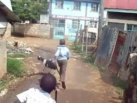 Walking to the Ring Road Clinic in Kisumu, Kenya