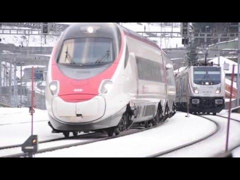 Trains of Central Switzerland