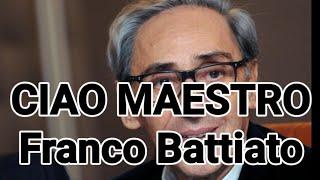 MORTO FRANCO BATTIATO... CIAO MAESTRO
