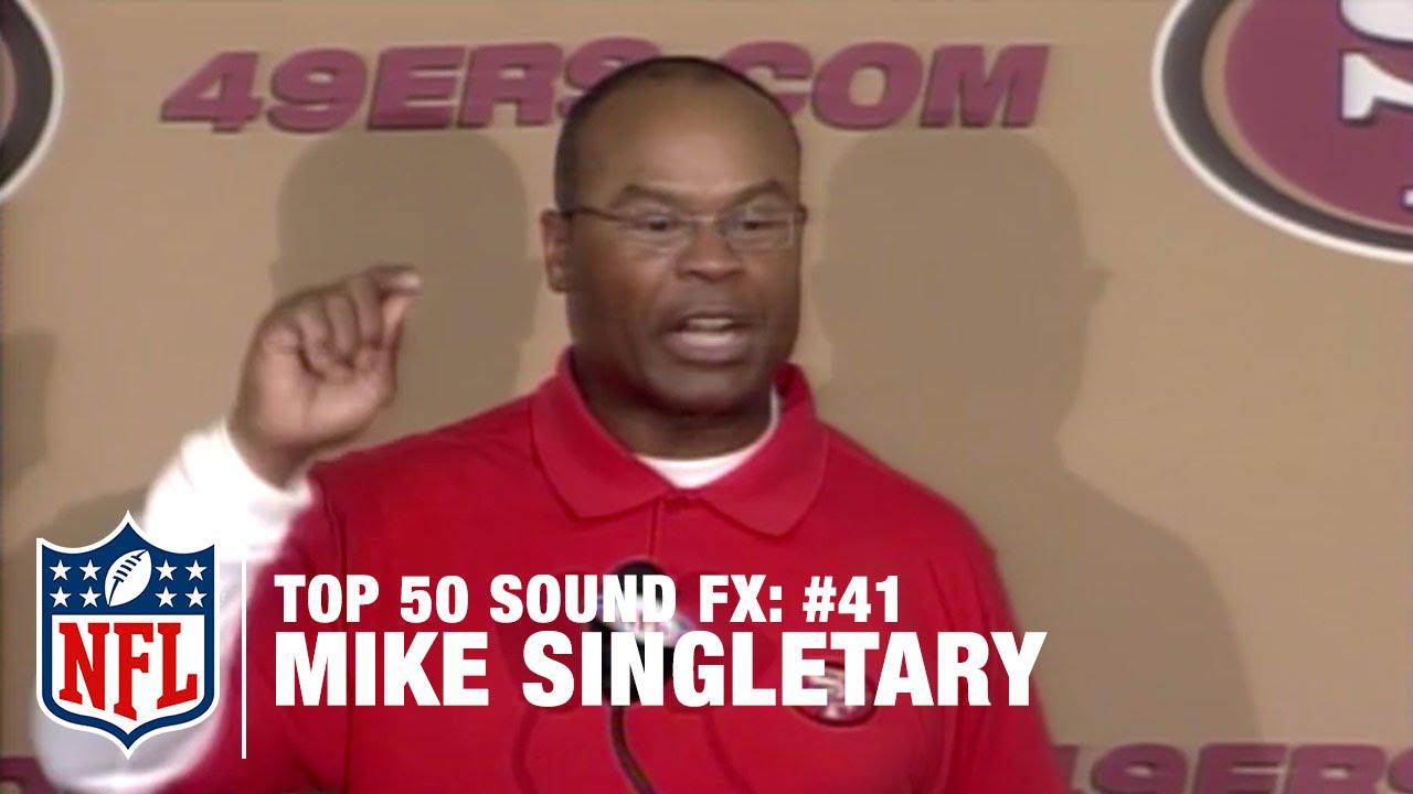 mike singletary rant