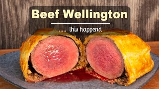 Beef Wellington  ... I did not expect this !!!
