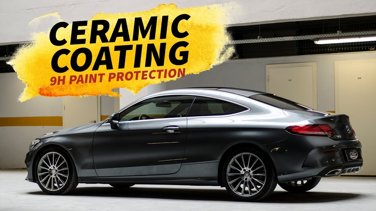 9h Car Ceramic Coating Paint Protection Application