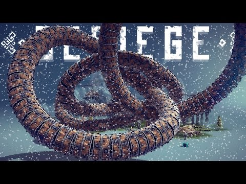 Besiege Best Creations - CHRISTMAS EDITION! TankDozer, Dragonfly, Time Bomb & More!