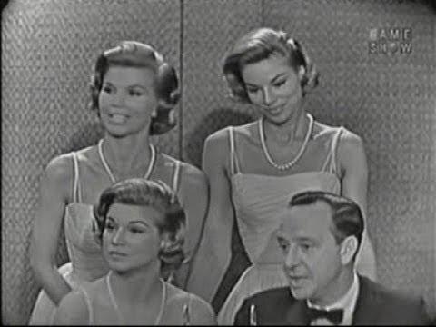 What's My Line? - The McGuire Sisters; Cesar Romero [panel] (Jun 7, 1959)
