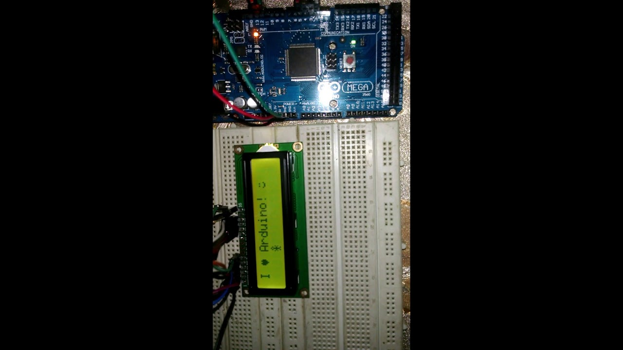 Custom Characters On 16x2 LCD With Arduino