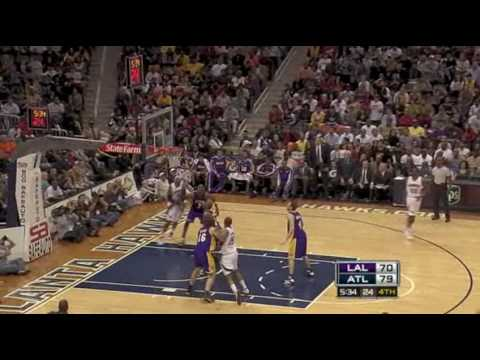 Atlanta Hawks Top 10 Plays from 2009
