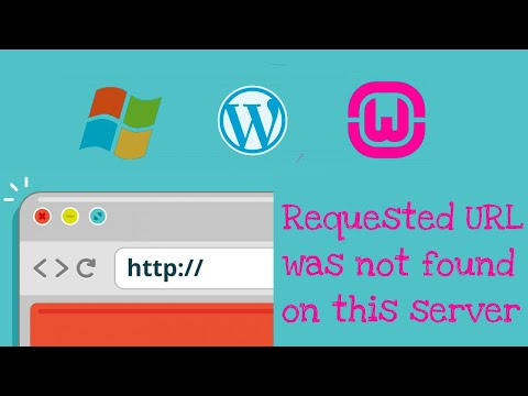 Solved: The Requested URL Was Not Found On This Server WordPress On Localhost WAMP Server