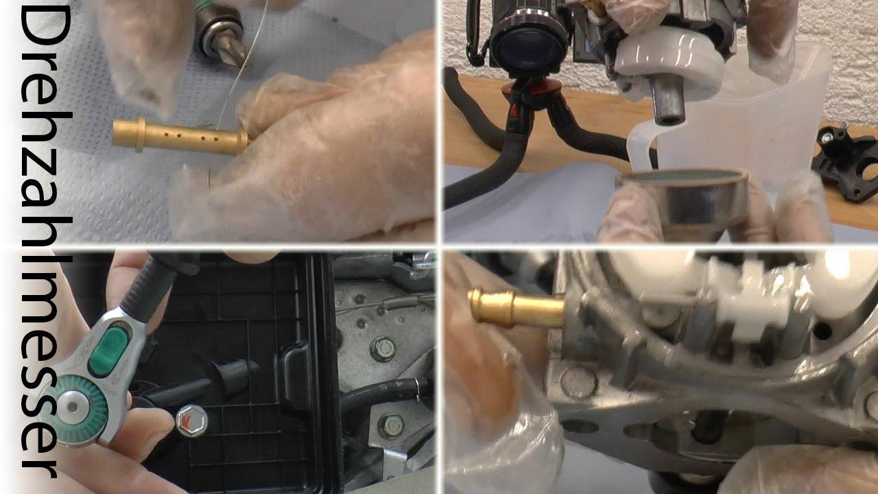 Luftfilter Zündkerze Motor Ersatz Rasenmäher Vergaser Reiniger Dauerhaft Neu