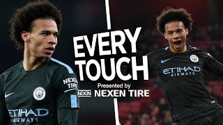 EVERY TOUCH | Leroy Sane | City 3 - 0 Arsenal | Premier League