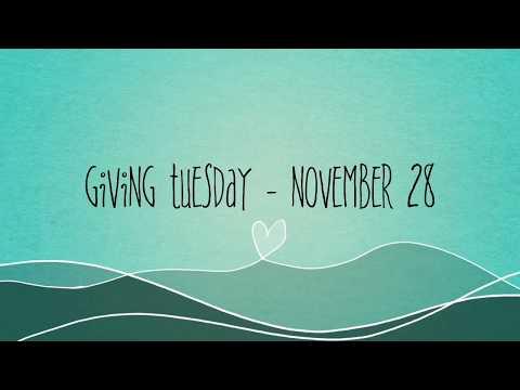 Giving Tuesday -  November 28