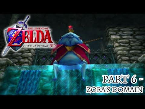 Ocarina of Time 3D [Part 6 - Zora's Domain]