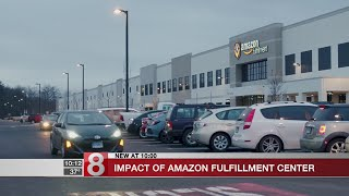 Amazon fulfillment center brings economic opportunity, union angst to Windsor