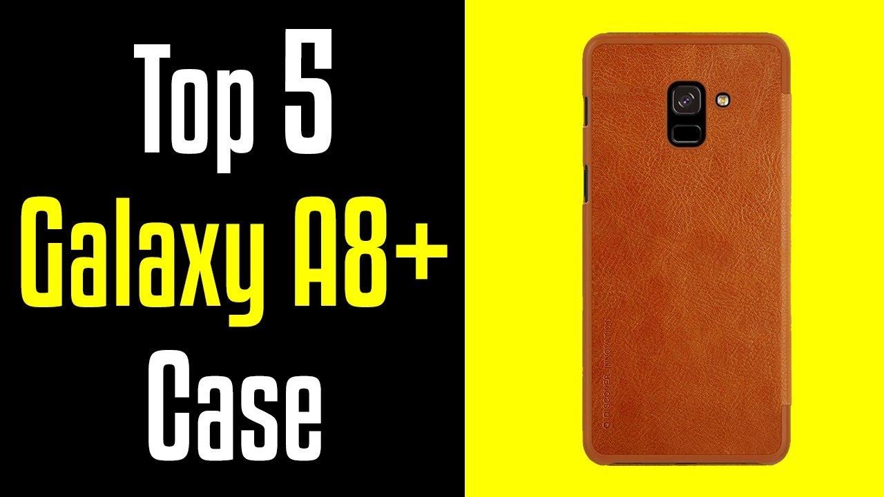 watch 11801 d8b7c 🔻Top 5 Best Samsung Galaxy A8+ Plus (2018) Cases!🔺[4K]