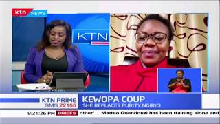 KEWOPA Coup: Kiambu Woman rep Gathoni Wamuchomba speaks
