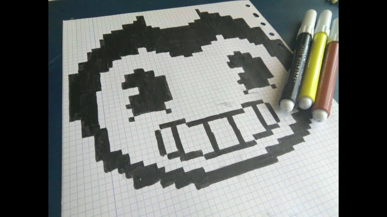 bendy and the ink machine pixel