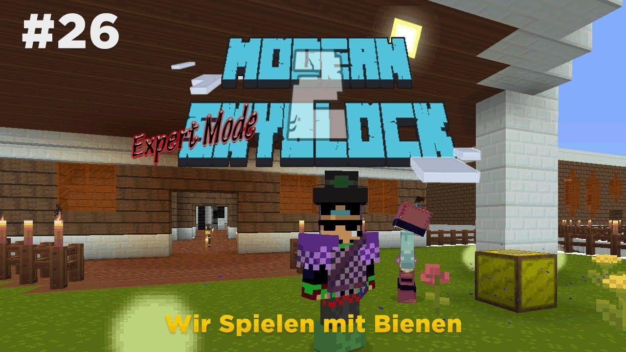 GER Minecraft Modern Sky Block Expert Mode EP Wir Spielen - Minecraft skyblock spielen
