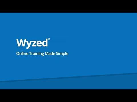 Wyzed Online Training