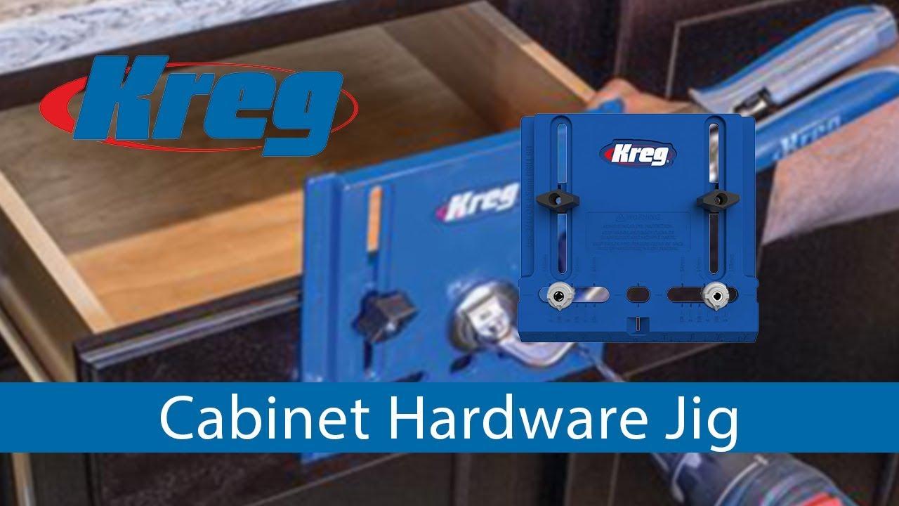 Kreg Cabinet Hardware Jig - YouTube