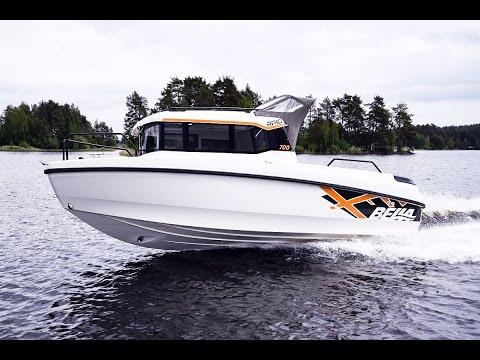 Моторный всепогодный катер Bella 700 RAID - Обзор катера