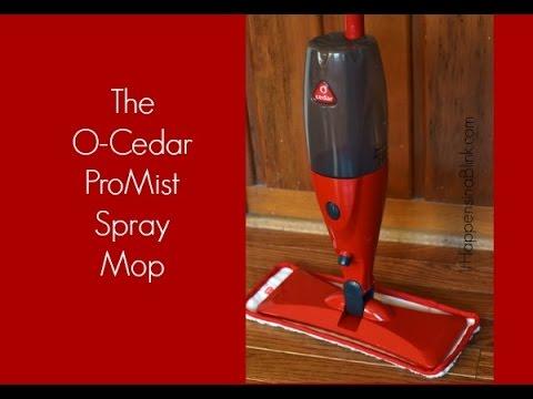 New Amp Improved O Cedar Promist Microfiber Spray Mop Doovi