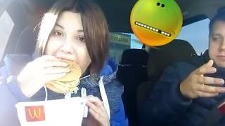 Продала хомяков Едем в Макдональдс