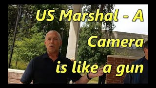 US Marshals denying rights in Coeur d'Alene Idaho