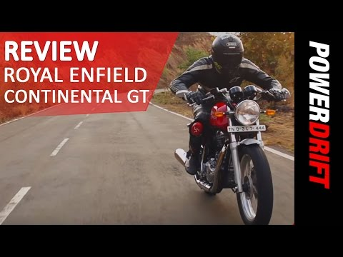 Royal Enfield Continental GT : Review : PowerDrift