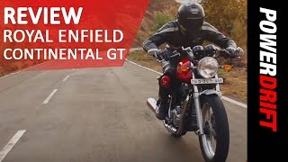 Royal Enfield Continental GT : Review : PowerDrift