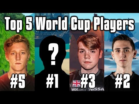 Top 5 Players To Win World Cup - Fortnite Solo + Duo Power Rankings
