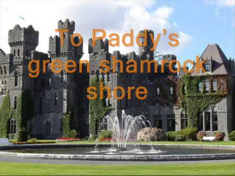 The High Kings-Paddy's Green Shamrock Shore (Lyrics)
