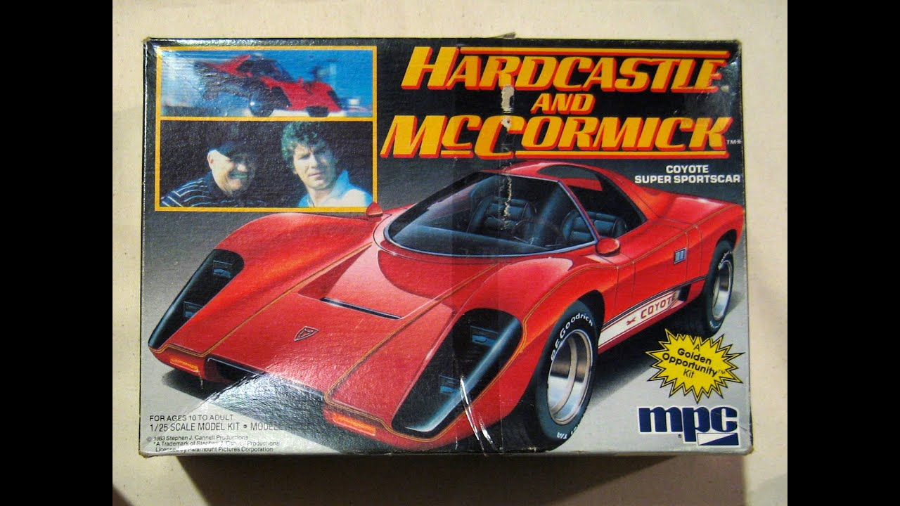 Hardcastle Mccormick Coyote Super Sportscar By Mpc Youtube