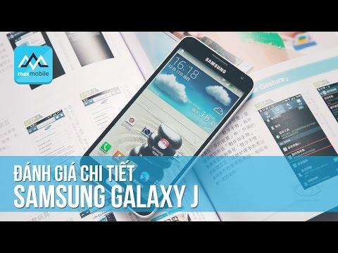 Đánh giá chi tiết Samsung Galaxy J Docomo SC-02F - Nhật Bản