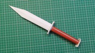 How to Make a Paper Knife-  Easy tutorials
