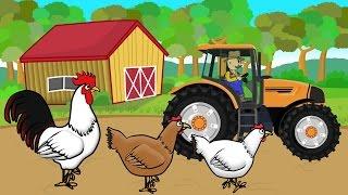 ☻ Farmer | Farm Works - Buying Chickens | Prace Rolnika - Wyprawa po Kurczaki | Bajki ☻
