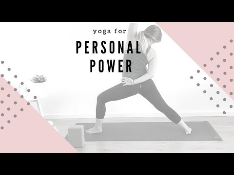 Yoga for Personal Power - 25 Minute Practice