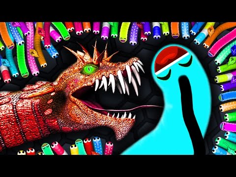 Thumbnail: Slither.io - BOSS GIANT SNAKE vs. 13500 SNAKES! // Epic Slitherio Gameplay (Slitherio Funny Moments)