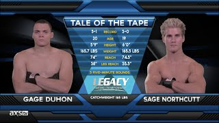 Fight of the Week: 19 Year Old Sage Northcutt Impresses At Legacy 42 thumbnail