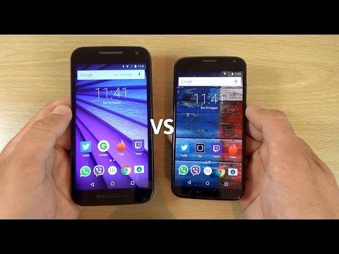 Moto G 3rd Gen VS Moto X 2013 - Which is Fastest?