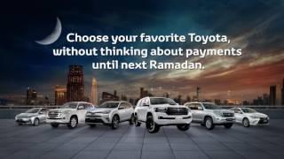 Toyota - Ramdan to Ramadan offer