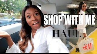 COME  SHOPPING WITH ME HAUL! RIVER ISLAND, H&M, MISSGUIDED