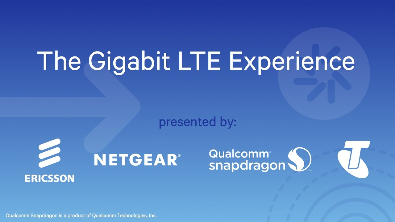Live from Sydney: The Gigabit LTE Experience