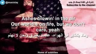 Eminem_nowhere fast ft .kehlani [lyrics video] مترجمة