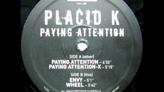 PLACID K - PAYING ATTENTION