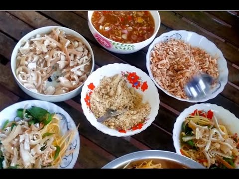 Asian Food - Cambodian Food Adventure - Youtube