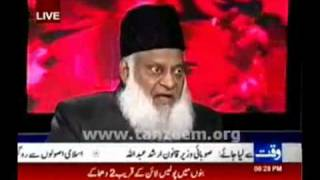 Untold wording of Quaid e Azam about Khilafat by Dr.Israr Ahmed - Takmeel-e-pakistan