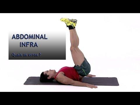 Como se fazer um abdominal infra ?