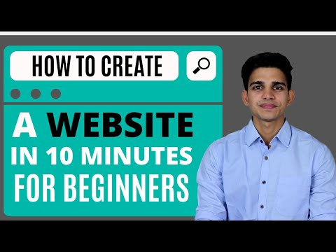 How To Create a Website in 10 minutes for Beginners [2020]