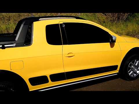 Volkswagen Saveiro Cross 2014 Amarela Novíssima!!!
