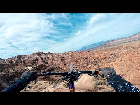 GoPro bike video Antoine Bizet's MASSIVE Double Backflip at Rampage