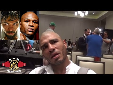 COTTO REVEALS WHO WAS THE BEST HE EVER FACED (PACQUIAO OR MAYWEATHER)